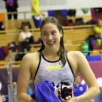 Peldētāja Maļuka Latvijas junioru čempionātā labo vecāko valsts rekordu
